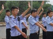 青岛保安介绍两种保安的行礼方式